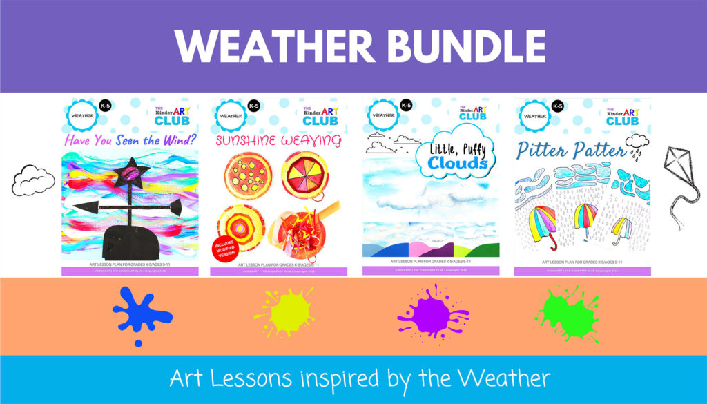 Weather Art Lesson Bundle