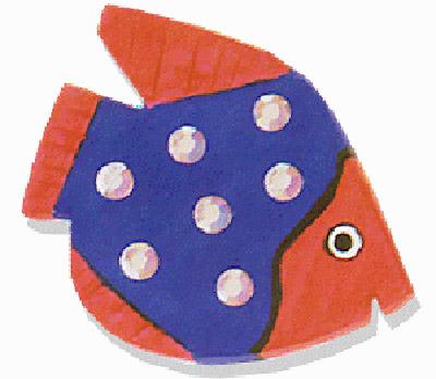 Paperclay Fish