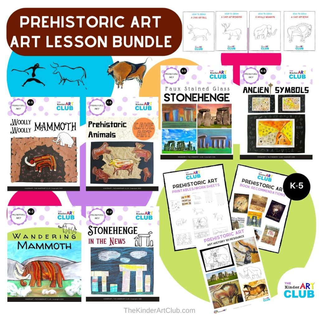 Prehistoric Art Lesson Plan Bundle