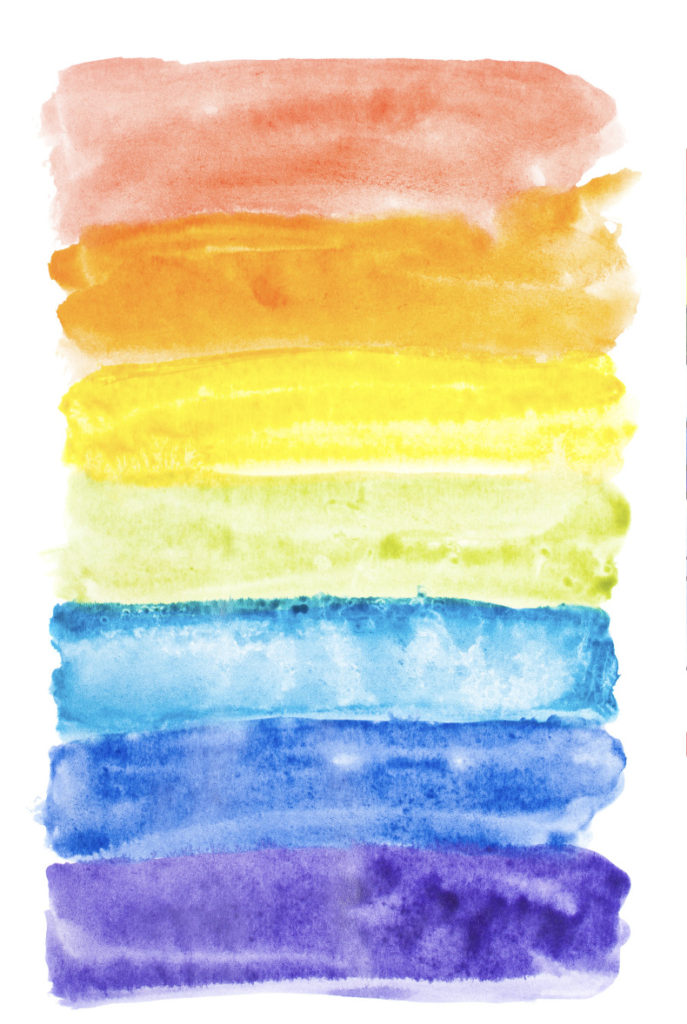 Watercolor Rainbows Lesson Plan Painting For Kids Kinderart