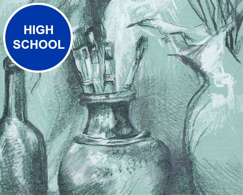 High School (Secondary School) art lesson plans. These activities are best suited for Grades 9-12 - or - ages 14 and up years.