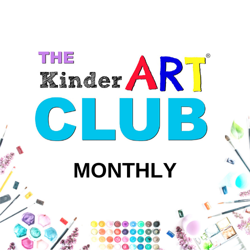 Join our club (featuring art lesson plans for 5 to 12 year olds) as a monthly member.