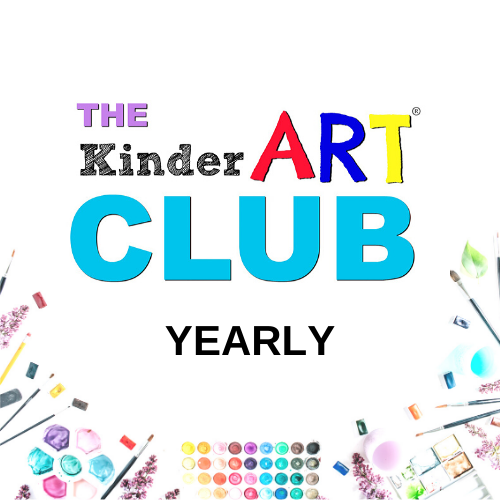 Join our club (featuring art lesson plans for 5 to 12 year olds) as a yearly member.