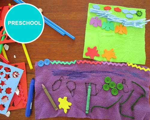 Preschool/Early Childhood Education art lesson plans. These activities which are best suited for ages 2-5 years.