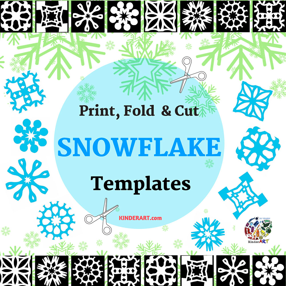 Paper Snowflake Pattern Template: How To Make A Paper